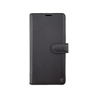 Genuine Leather Black 2-in-1 Samsung Galaxy A70 Case