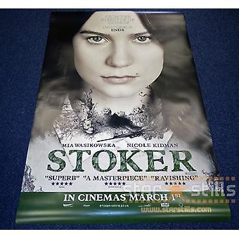 Poster do Stoker dobro tomado o partido (6 folhas muito raras) (2013) poster original do cinema