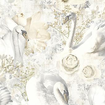 Glitter cisnes wallpaper Holden