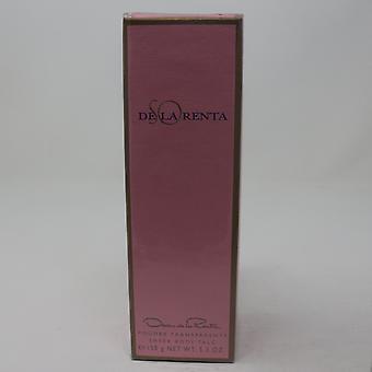 Oscar De La Renta So De La Renta Sheer Body Talc  5.3oz/ml New In Box