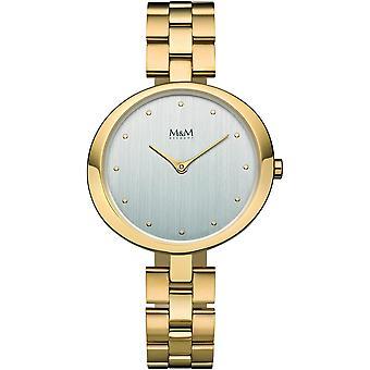 M & M Germany M11933-232 Ring-O Ladies Watch