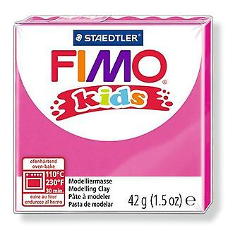Fimo Kids Modelling Clay, Bright Pink, 42 g