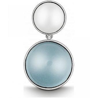 QUINN - قلادة - النساء -الفضة 925 - الأحجار الكريمة - بلو توباس - 24058958