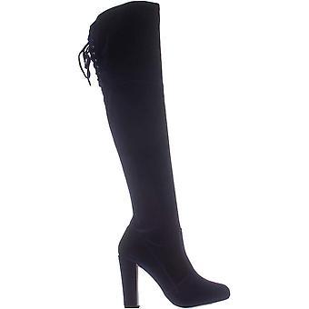 MG35 Priyanka Knee High Fashion Boots, Marine, 9 États-Unis