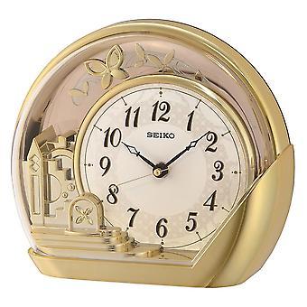 Seiko Mantel Clock - Gold (Model No. QXN232G)
