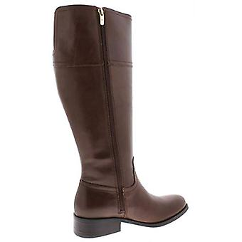 Marc Fisher Womens Galaya Leather Knee-High Riding Boots