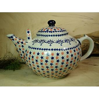 Teapot, 2nd choice, 3000 ml, tradition - polonaise poterie - BSN 22972