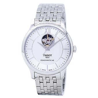 Tissot T-Classic Tradition Powermatic 80 Open Heart T063.907.11.038.00 T06390711