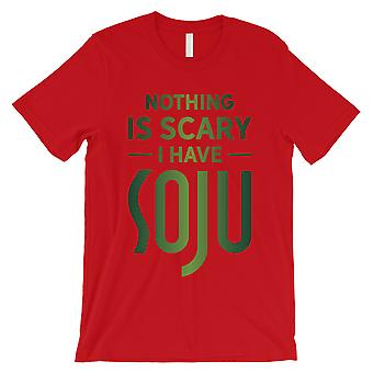 Nothing Scary Soju Mens Red Chill Hilarious Cool Halloween T-Shirt
