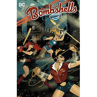 DC Bombshells The Deluxe Edition Book Two by Marguerite Bennett