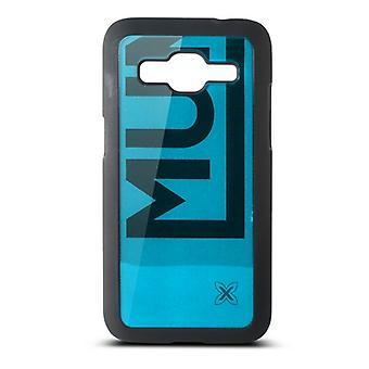 Mobile cover Samsung Galaxy Core Munich Color Line Polycarbonate Black Blue