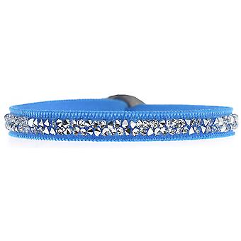 Les Interchangeables A24960 armbånd - Kvinders høj kvalitet krystaller turkis armbånd