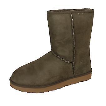 Ugg classic short ii women's espresso boots