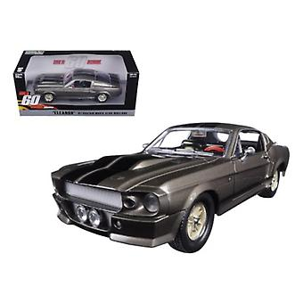 1967 Ford Mustang Custom \Eleanor\ Gone In 60 Seconds Movie (2000) 1/24 Diecast Model Car By Greenlight