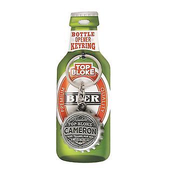 History & Heraldry Keyring - Cameron Bottle Opener