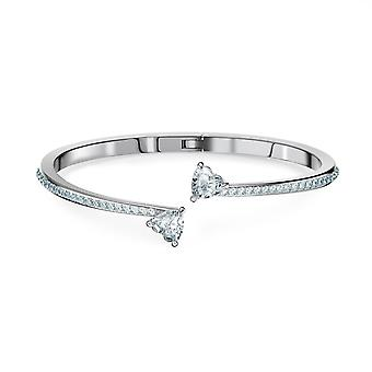 Swarovski armbånd 5535354-armbånd-Jonc m Tal sølv krystaller kvinner
