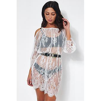 Lola Lace Cover Up