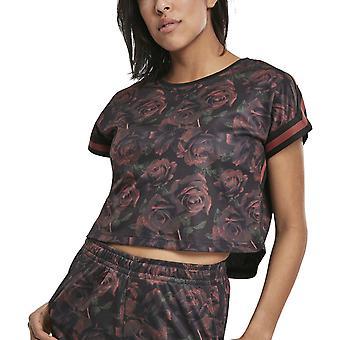 Urban Classics Ladies - MESH Short Top Shirt flower