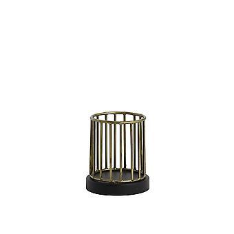 Licht-en leefthee 11x13cm - Jorim Antique Bronze-Matted Black