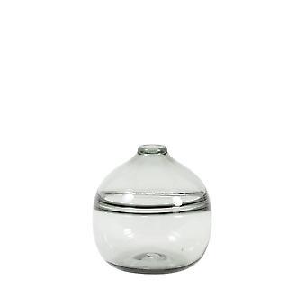 Light & Living Vase 18x20cm Mucelao Glass Grey