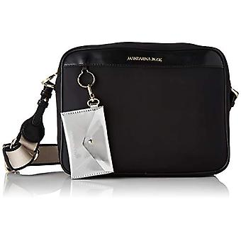 Mandarin Duck Bijou Black Women's Crossbag Bag (Black) 10x10x10 cm (W x H x L)
