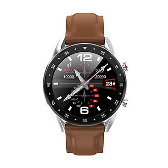 Lemfo SmartWatch Sports Fitness Sport Activité Tracker Smartphone Watch iOS iPhone Android Samsung Huawei Brown Cuir