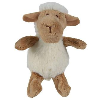 Trixie Sheep With Catnip, Teddy 10 Inch (Cats , Toys , Plush & Feather Toys)