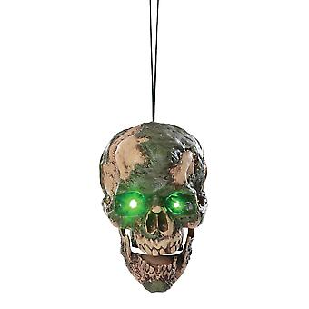 Hanging Scary Head Animated Prop