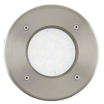 Eglo Lamedo - 1 lett utendørs innfelt ground light rustfritt stål IP44 - EG93482