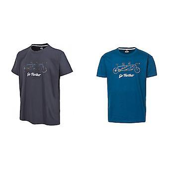 Hausfriedensbruch Mens Hanks Kurzarm T-Shirt
