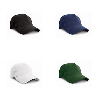 Result Pro Style Heavy Brushed Cotton Baseball Cap