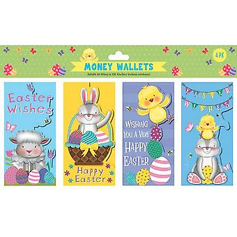 Eurowrap Cute Easter Money Pouch (Pack of 4)