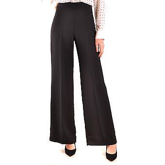 Hanita Ezbc433005 Women's Black Polyester Pants