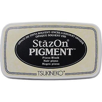 StazOn Pigment Ink Pad - Piano Black
