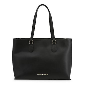 Emporio Armani Original Women All Year Shopping Bag - Black Color 57243