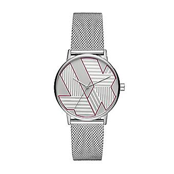 Armani Exchange Ladies Quartz analogue watch with stainless steel band AX5549