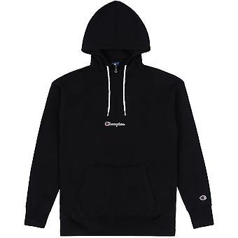 Champion Herren Kapuzenpullover Half Zip Hooded Sweatshirt 214196