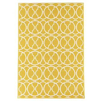 In - and outdoor carpet balcony / living room vitaminic yellow natural 160 x 230 cm