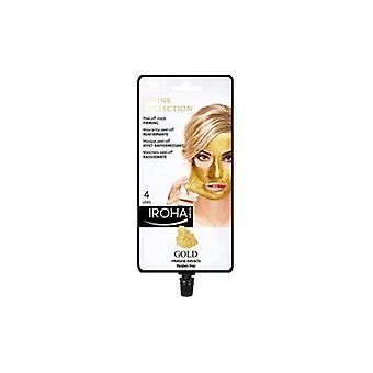 Iroha Nature Firming Peel-off Mask With Gold (4 Use Sachet)