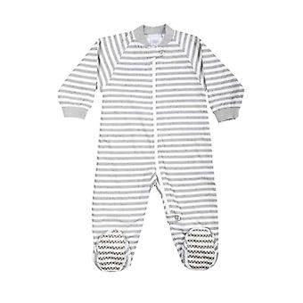 uh-oh! Baby Sleeping Bag with Legs 1.0 tog Warmth Rating Grey Stripe