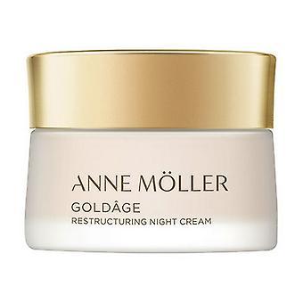 Night Cream Goldâge Anne Möller (50 ml)