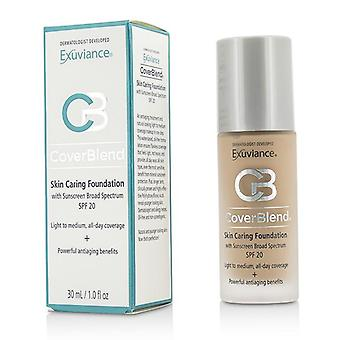 Exuviance Coverblend Skin Caring Foundation Spf20 - # Neutral Beige - 30ml/1oz