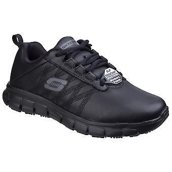 Skechers women's sure track erath schoen zwart 25763