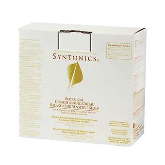Syntonics kasvitieteellinen Hiustenkuivaaja Creme Relaxer herkkää hiuspohjaa (6 kpl)