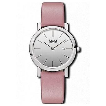 M&M Germany M11908-742 Flat design Women's Watch