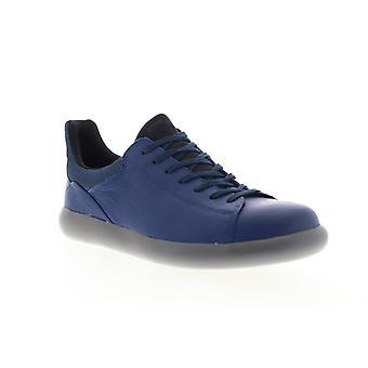 Camper Pelotas Capsule Xl  Mens Blue Leather Euro Sneakers Shoes