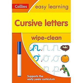 Cursive Letters Age 3-5 Wipe Clean Activity Book (Collins Easy Learni