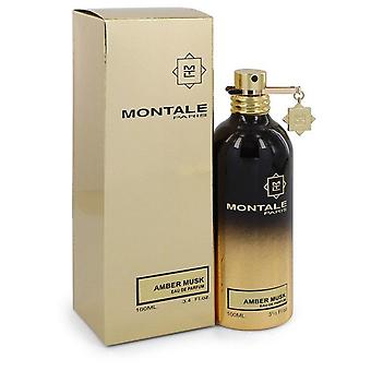 مونتالي العنبر المسك eau دي parfum رذاذ (للجنسين) من قبل مونتالي 545173 100 مل