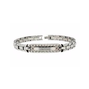 ZOPPINI Stainless Steel Patterned Bracelet