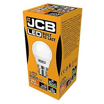 JCB LED Golf 250lm Opal 3w Light Bulb B22 2700k